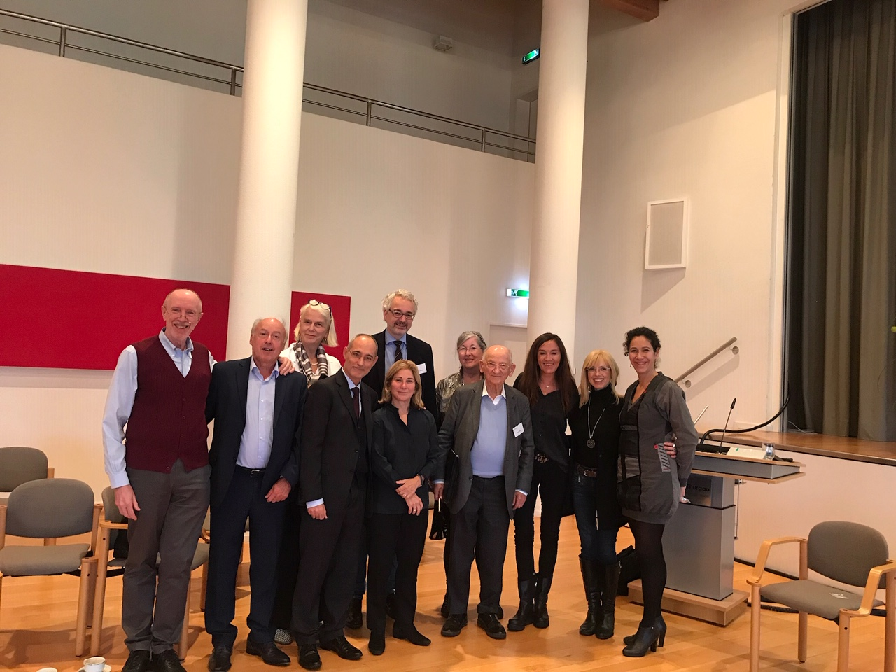 1st ISTFP Supervisor Meeting In Münsterlingen, Switzerland